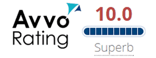 Avvo Rating 10.0 Superb Lawyer Rating